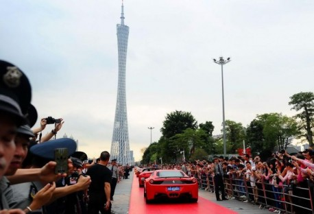 Ferrari Grand Festival in Guangzhou, China