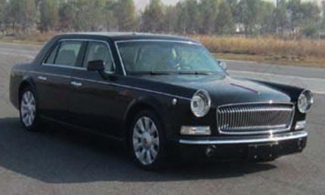 Spy Shots: Hongqi L7 shows its Back in China