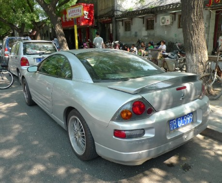 Spotted in China: third generation Mitsubishi Eclipse Coupe