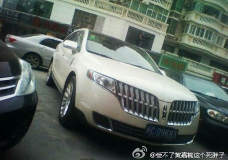 First Lincoln MKT seen on the road in China