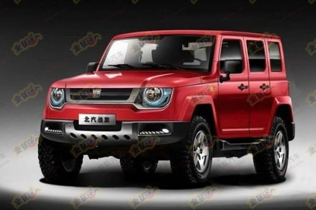 Beijing Auto Works working on new 'Zhanqi' SUV