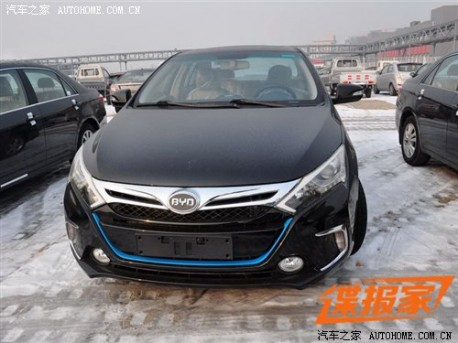 BYD Qin shows its Back in China