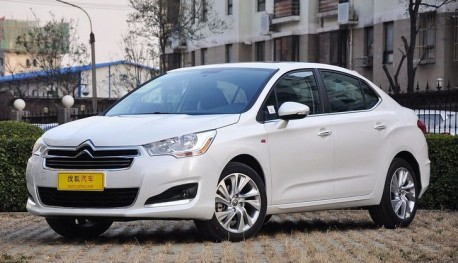 Citroen C4L launched on the China car market