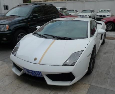 Spotted in China: Lamborghini Gallardo LP550-2 Balboni