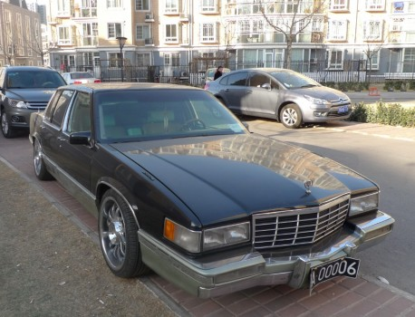Spotted in China: sixth generation Cadillac de Ville