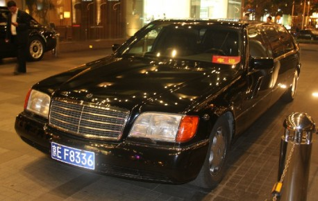 Spotted in China: W140 Pullman Mercedes-Benz '6000 SEL' stretched limousine