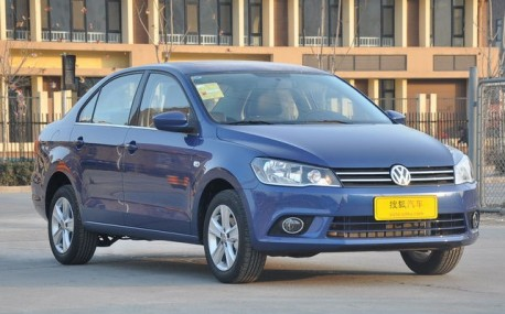 New Volkswagen Jetta from all sides in China