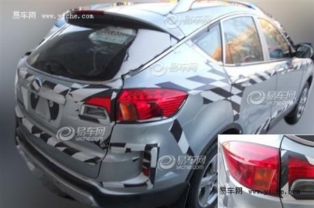Spy Shots: FAW-Besturn X80 still testing in China