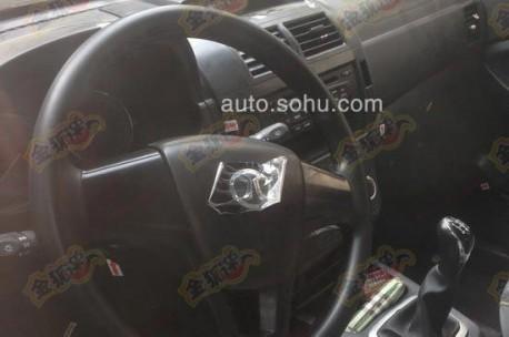 Spy Shots: Beijing Auto Weiwang mini MPV testing in China