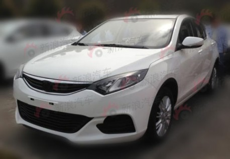 Spy Shots: Chang'an Eado XT naked from all sides in China