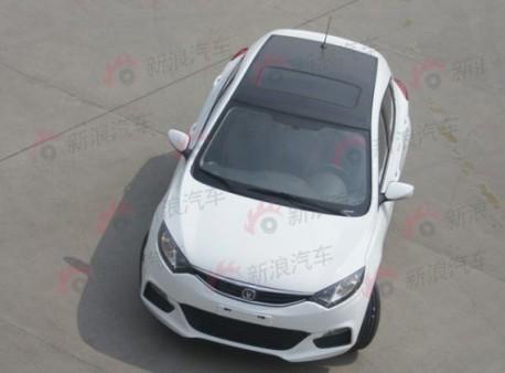 Spy Shots: Chang'an Eado XT shows its Back in China