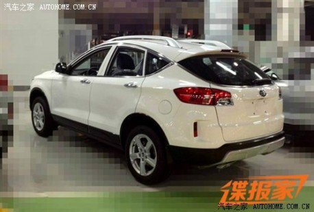 FAW-Besturn X80 SUV will debut on the Shanghai Auto Show