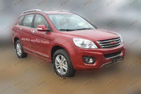 Spy Shots: Great Wall Haval H6 transforms into Haval H6
