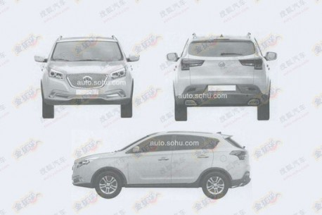 Patent Applied: Hawtai A25 is a new city SUV for China