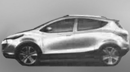 Spy Shots: first pictures of the JAC Heyue S30
