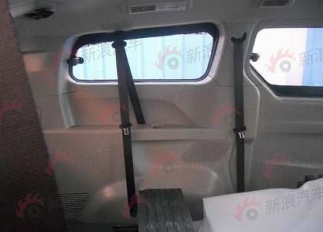 Spy Shots: new Maxus MPV testing in China