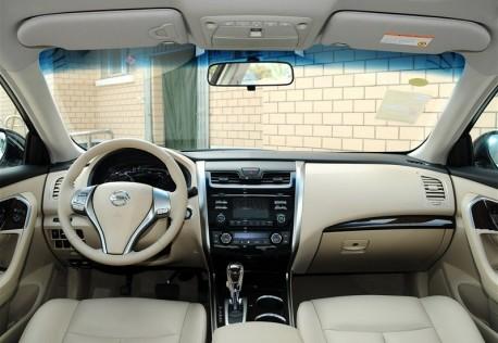 New Nissan Teana hits the Chinese auto market