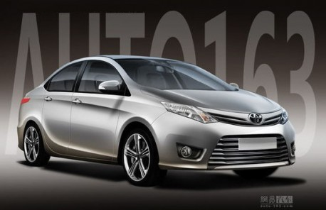 Toyota Dear sedan = new Toyota Vios for China