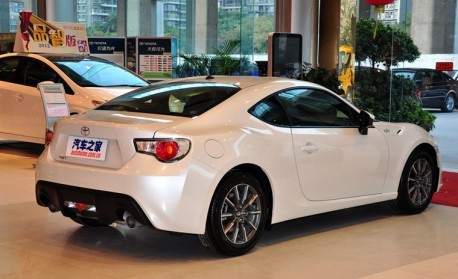Toyota GT86 hits the China auto market