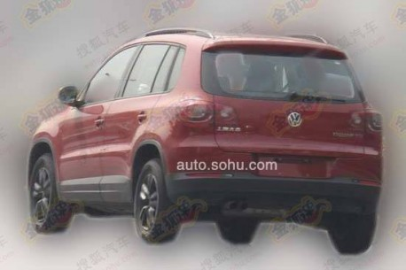 Spy Shots: sporty Volkswagen Tiguan for the Chinese car market