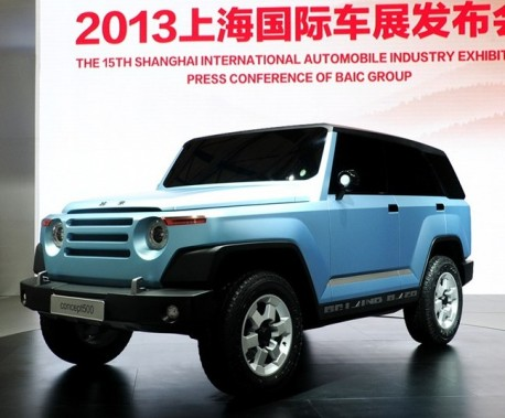 Beijing Auto Concept 500 concept debuts on the Shanghai Auto Show