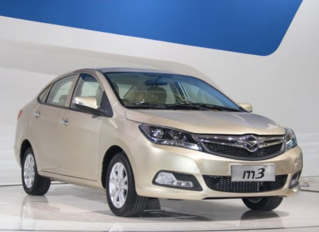 Haima M3 launched on the Shanghai Auto Show & on the Chinese car market