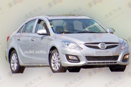 Spy Shots: Haima M6 testing in China