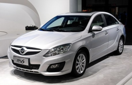 Haima M6 hits the Shanghai Auto Show