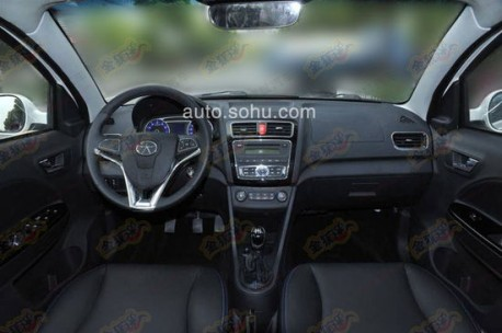 JAC Heyue A20 is Ready for the Shanghai Auto Show
