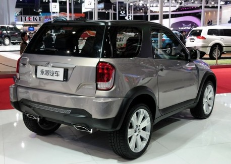 Facelifted Jonway A380 SUV debuts on the Shanghai Auto Show