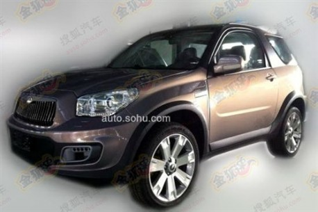 Spy Shots: facelift for the Jonway A380 SUV in China