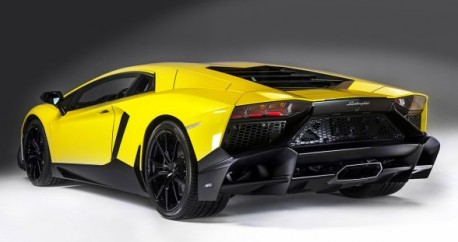 Lamborghini Aventador LP720-4 50 Anniversario Edition will debut on the Shanghai Auto show