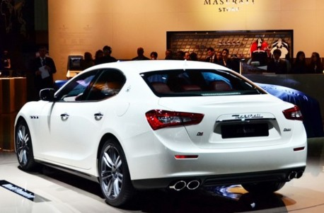 Maserati Ghibli debuts on the Shanghai Auto Show
