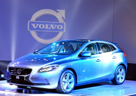 Volvo V40 launched on the China car market