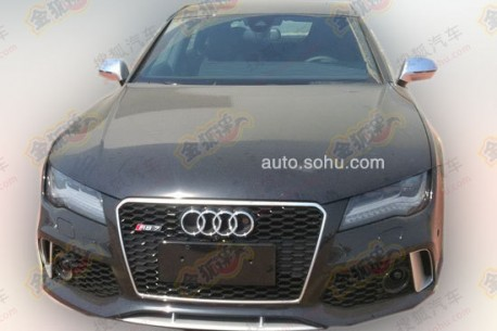 Spy Shots: Audi RS7 testing in China