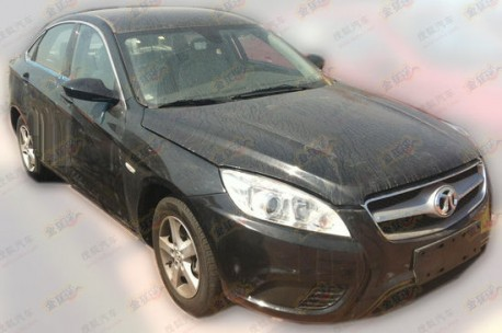Spy Shots: Beijng Auto C50E is Naked & Dusty in China