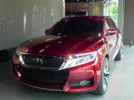 Eye to Eye with the Citroen DS Wild Rubis concept in China