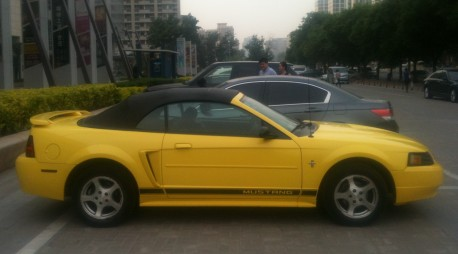 ford-mustang-yellow-china-2