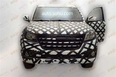 Spy Shots: Haval H9 SUV testing in China