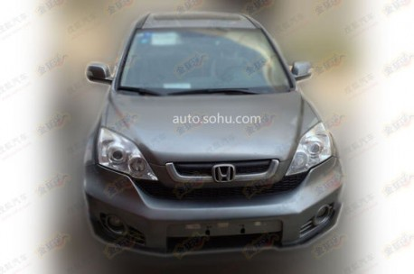 Spy Shots: last-generation Honda CR-V will Return in China