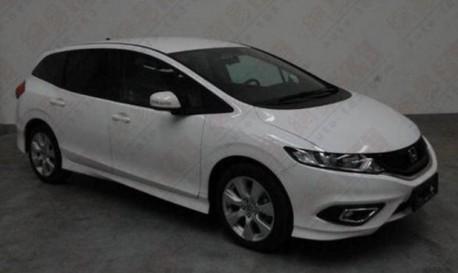Spy Shots: Honda Jade MPV is Naked in China