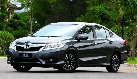 Honda Crider hits the China car market