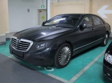 Spy shots: new Mercedes-Benz S-Class seen testing in China