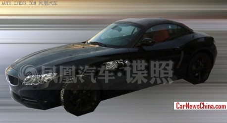Spy Shots: BMW Z4 sDrive18i testing in China