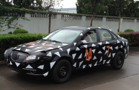 Spy Shots: Buick Excelle testing in China
