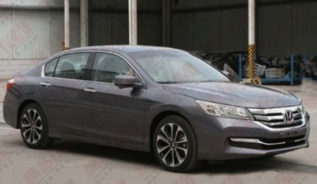 Spy Shots: new Honda Accord is Naked in China