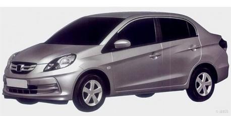 Patent Applied: Honda Brio Amaze to come to China