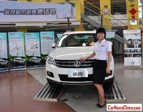 Volkswagen sales in China up 19% in H1