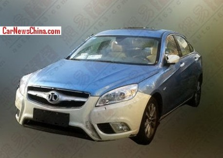 Spy Shots: Beijing Auto C50E seen Naked in China