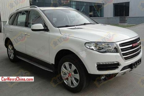 Spy Shots: Haval H8 SUV is finally Ready for the China car market